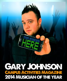 View more information about Gary Johnson Virtual All Request Live