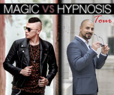 View more information about Magic Vs. Hypnosis Tour - Joel Meyers & Eric Mina